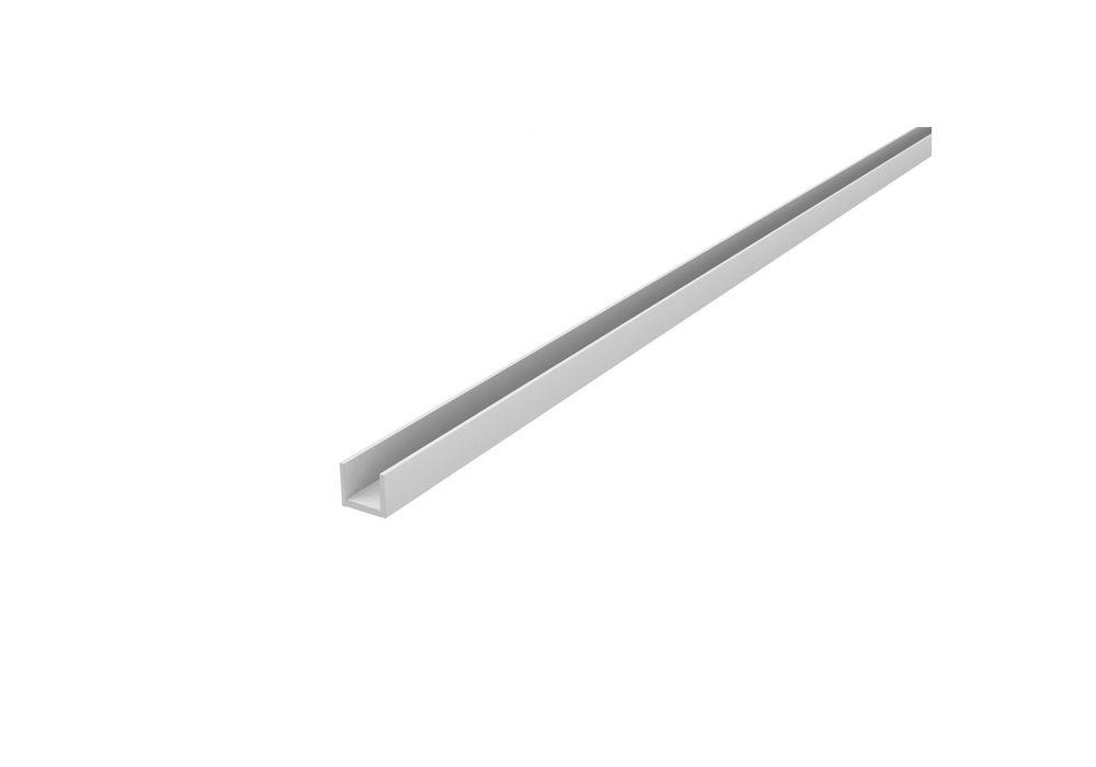 Планка для щита 6 мм L-3.05 м СТ-36 матовая торцевая