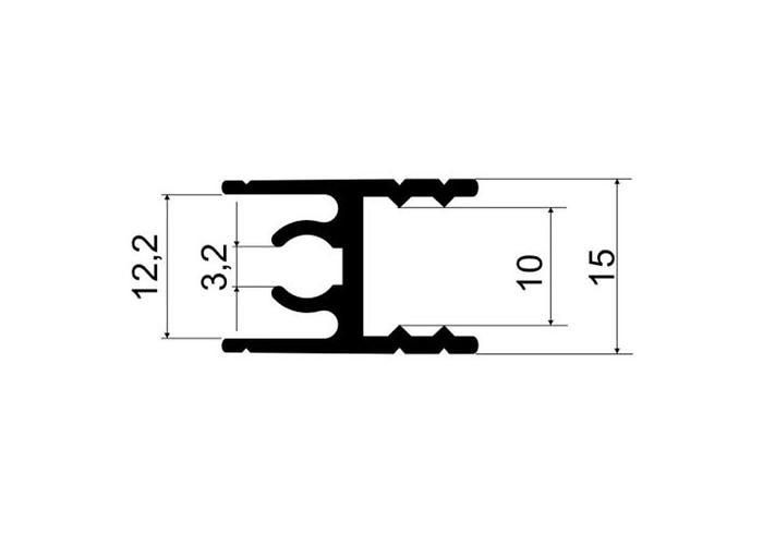 А30.MS210 Рамка двери верхняя L-5,8 Клен