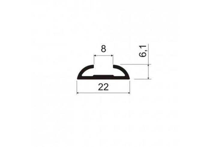 А07.MS341 Профиль горизонтальный пивотный L-5,8 м/кон