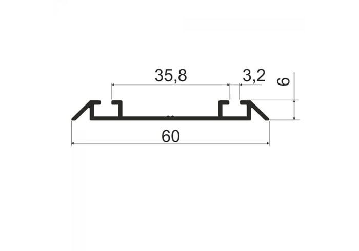 А00.MS320 Направляющая нижняя L-5,8 м/а (20 шт)