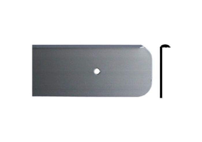 Планка H38 торцевая универсальная глянец