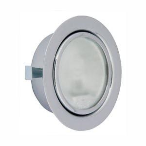 Мебельн.светильник FT-9251 Тхром (с/л 20W G4) с клем.кол. и выкл. SET (мат.стекло)