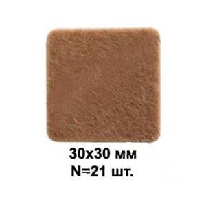 Подпятник войлочный 43202.003 30*30мм (21шт.) РС 6030