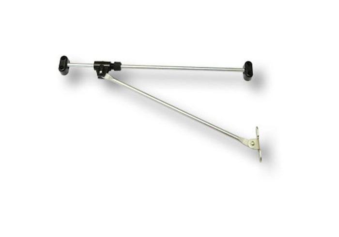 Кронштейн мебельный секретерный 250 мм 168-00