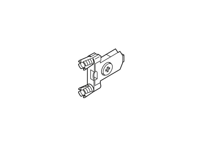 ZSF.39A2 FROB V500 BL TANDEMBOX репление фасада , INSERTA , симметрич. чистый P/U 500