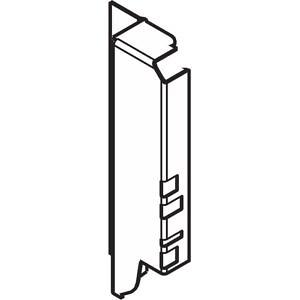 Z30B000S.04HO-R R V50R906 TANDEMBOX держ.зад.стенки из ДСП, hB(160мм),правыйR9006сер.металлик P/U:50
