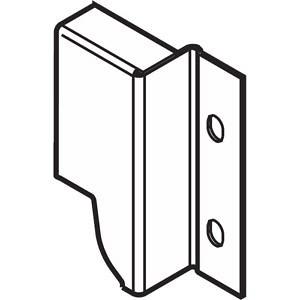 Z30M000S.04HO-R L V50R906 TANDEMBOX держ.зад.стенки изДСП, hM(96.5мм),левыйR9006 сер.металлик P/U:50