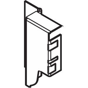 Z30M000S.04HO-R R V50R906 TANDEMBOX держ.зад.стенки изДСП,hM(96.5мм),правыйR9006 сер.металлик P/U:50
