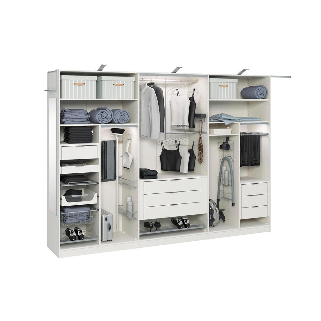Наполнения шкафов-купе — материал для изготовления шкафа-купе